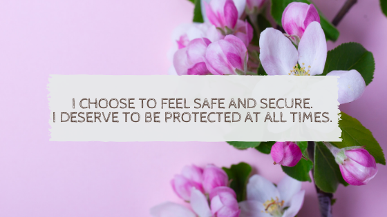 Feeling Safe – by Eve Milford